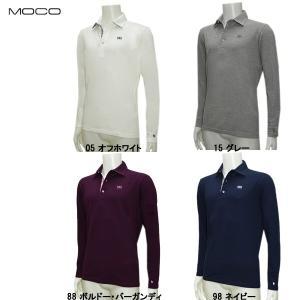 モコ MOCO メンズ 春夏 ストレッチカノコ 長袖シャツ|depot-044