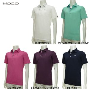 モコ MOCO メンズ 春夏 クールマックスピケ 半袖シャツ|depot-044
