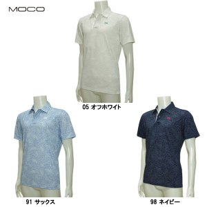 モコ MOCO メンズ 春夏 ペイズリー ドライ 半袖シャツ|depot-044