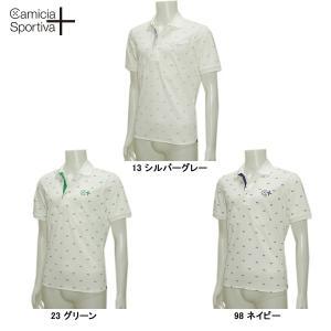 Camicia Sportiva + カミーチャ スポルティーバ 春夏 アイコンプリント 半袖シャツ|depot-044