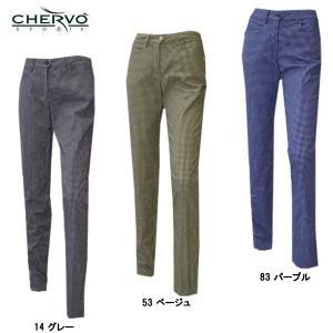 シェルボ CHERVO レディース チェック柄 パンツ|depot-044