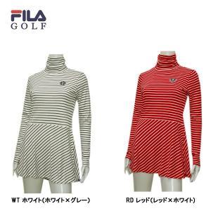 フィラ FILA GOLF レディース 発熱 チェニック シャツ|depot-044