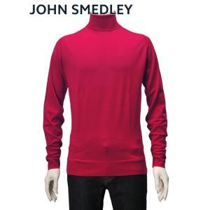 ジョンスメドレー JOHN SMEDLEY メンズ 長袖 タートルネック チャーウェル 30ハイゲー...