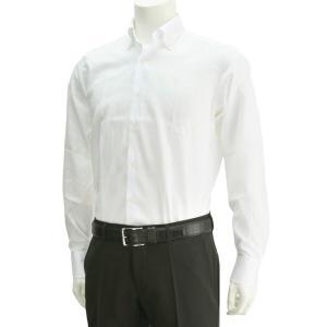 ボンサー  ホワイト ボタンダウンワイシャツ メンズドレスシャツ ブロードコットン BIGサイズ deradera