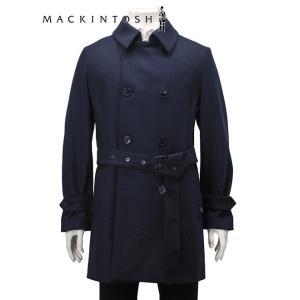 マッキントッシュ  MACKINTOSH ダブルトレンチコート メンズ ネイビー 1014F ライト...