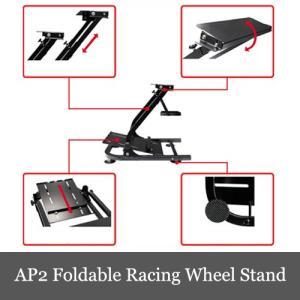限定セール AP2 Foldable Racing Wheel Stand ホイールスタンド 折畳式 コンパックト G29/G27/GT/T500RS 対応|dereshop|04