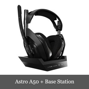 ASTRO アストロ A50 Wireless + Base Station Headset ゲーミ...