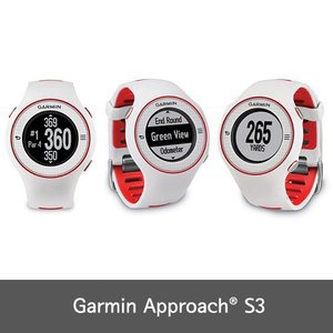 Garmin Approach S3 ガーミン Golf GPS Watch NEW VERSION w/ 30000+ Courses  60-Day Buy & Try Return Policy! 並行輸入品 送料無料 White|dereshop