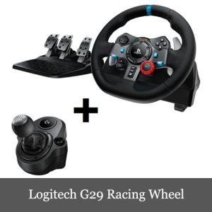 限定セール Logitech G29 Driving Force Feedback Racing Wheel Shifter付き 送料無料|dereshop