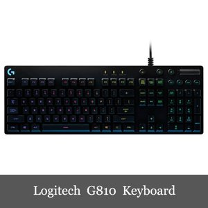 限定セール Logitech ロジテック G810 Orion Spectrum RGB Mechanical Gaming Keyboard ゲーミング キーボード|dereshop