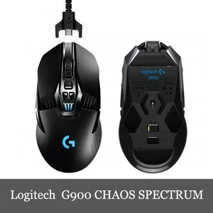 Logitech G900 Chaos Spectrum Wireless Gaming Mouse ロジテック 再充電式 ワイヤレス ゲーミング マウス dereshop