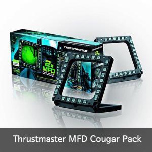 Thrustmaster MFD Cougar Pack MDFクーガーUSBコックピットパネル米国...