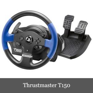 Thrustmaster T150 Force Feedback Racing Wheel スラスト...