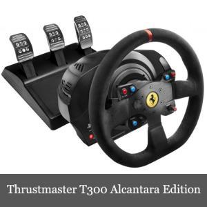 Thrustmaster T300 Ferrari Integral Racing Wheel Al...