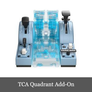 Thrustmaster TCA Quadrant Add-On Airbus Edition スラ...