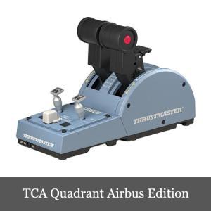 Thrustmaster TCA Quadrant Airbus Edition フライトスティック...