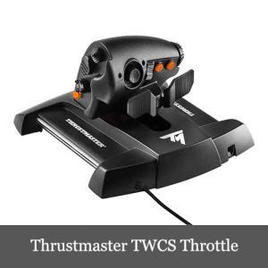 Thrustmaster TWCS Throttle スラストマスター ジョイスティック用スロットル...