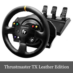 スラストマスター Thrustmaster TX Racing Wheel Leather Edition レーシング ホイール 輸入版 Xbox One/PC 対応 送料無料|dereshop
