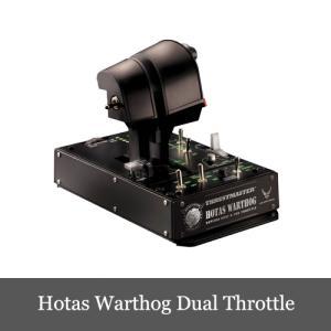 Thrustmaster Hotas Warthog Dual Throttle スラストマスター ...