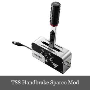 新発売 スラストマスター Thrustmaster TSS Handbrake Sparco Mod ハンドブレーキ スパルコ モッド 中元ギフト おまけ有り