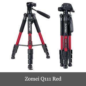 Zomei Q111 三脚 軽量アルミ製 4段 3WAY 雲台 キャリングバッグ付き Canon N...