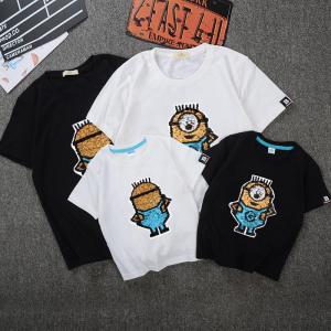 【商品説明】  セット:Tシャツ  サイズ(cm) : 着丈 バスト 肩幅  袖丈  子供100:4...