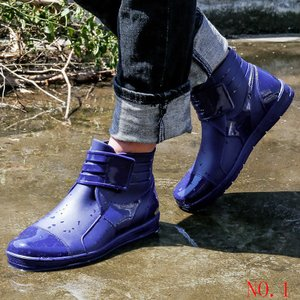 レインシューズ メンズ レインブーツ 長靴 雨靴 防水 雨具...