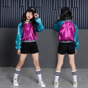 3点セット子供 ダンス 衣装 ヒップホップ ダンストップス HIPHOP キッズダンス衣装 セットアップ ステージ衣装 ジャズダンス ウエア 衣装  スポーツウェアxhf55
