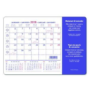 マウスパッドカレンダー スタンダード 【bp18-841】|desco