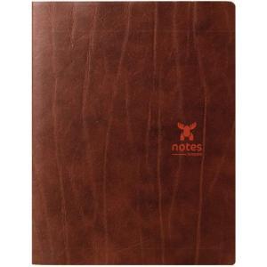 【brepols×ATOMA】Moose Note Book  ムース ノート A5サイズ【ブラウン】(bp196mo)|desco