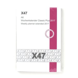 A6 Weekly Planner classic plus 2017 【12x17p】 desco