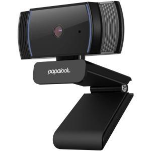 Webcam 1080P、PAPALOOK AF925 Autofocus WebカメラフルHDビデオストリーム、65°表示角度、ノイズキャンセリング|design-life