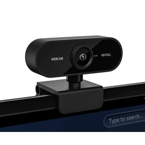 ウェブカメラ ウェブカム WEBカメラ マイク内蔵 高画質 1080P 200万画素 広角100° ドライバー、インストール不要 180°回転角度調整|design-life