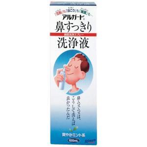 アルガード 花粉・ほこり・雑菌 鼻すっきり洗浄液 爽やかなミント系 ミスト洗浄 100mL|design-life