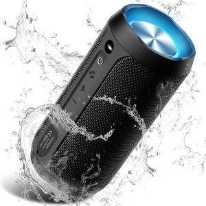 COOCHEER Bluetoothスピーカー ワイヤレススピーカー スマホスピーカー ブルートゥーススピーカー IPX6防水防塵 20+時間連続再生 design-life