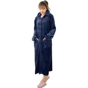 着る毛布 極厚 着るブランケット ルームウェア あったかグッズ Bwiv フードポケット付き 丸洗い 男女兼用 ギフト ふわふわな肌触り 静電気防止|design-life