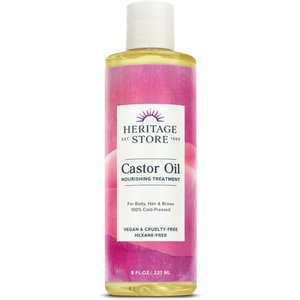 Castor Oil Hexane Free - 8 fl oz by Heritage Products design-life
