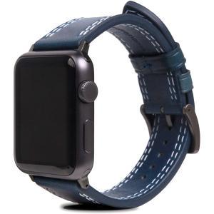 SLG Design Apple Watch バンド 44mm 42mm レザー イタリアン アップルウォッチ ベルト Series 6 / Seri design-life