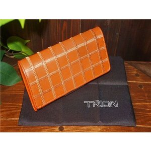 TRION 【トライオン】 PWseries P801R長財布DarkTan 【新品】 【メンズ レディース】 【イタリアンレザー】 【本革製】 【鞄】 【バッグ】 【ギフ|design-s
