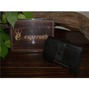 esperanto 【エスペラント】 ESP-6299 ESPERAVTO LEATHER KEY CASE BLK 【新品】 【メンズ レディース】 【イタリアンレザー】 【本革製】 【ギフト】|design-s