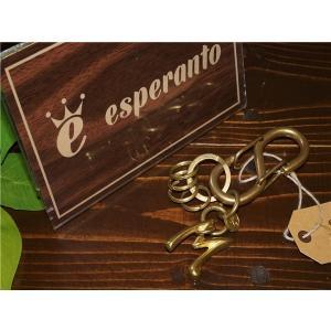 esperanto 【エスペラント】 EM-594K KARABINER NUMBER KEYHOLDER 【M】【新品】 【メンズ レディース】 【イタリアンレザー】 【本革製】 【ギフト】|design-s