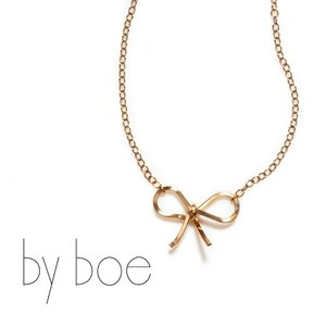 by boe(バイボー) TINY BOW NECKLACE タイニーボウネックレス リボン 218