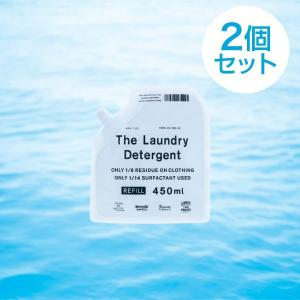 2個セット  THE 洗濯洗剤 The Laundry Detergent 詰替え パック450ml...