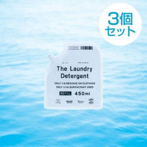 3個セット  THE 洗濯洗剤 The Laundry Detergent 詰替え パック450ml...