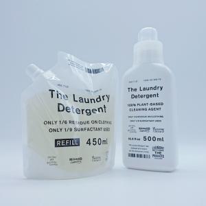 THE 洗濯洗剤 本体&詰め替えパックセット ウール、シルクも洗える The Laundry Det...
