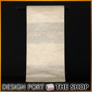 川島織物セルコン オリジナル商品 錦本袋帯「きらめき」5色展開の鼠色です。  【総丈】約448cm ...