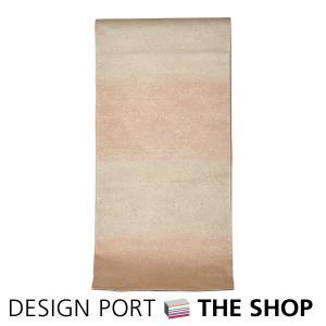 帯 着物 和装 川島織物セルコン 錦本袋帯 「きらめき」 ローズ朱 芯入仕立上り