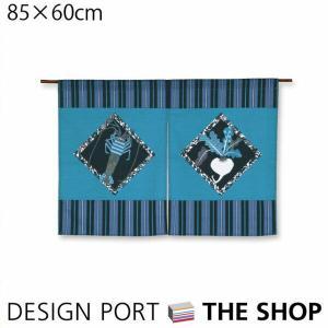 【無料ラッピング対象商品】のれん夏 85×60cm 海の幸・山の幸 オリジナルのれん 川島織物セルコンの写真