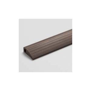 タイルカーペット用見切り材(ユニットラグ用見切り材)5本入り 長さ:約100cm/本 ダークブラウン 川島織物セルコン|designport