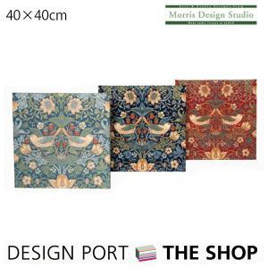 ファブリックパネル MORRIS(ウィリアムモリス)いちご泥棒 40cm×40cm 川島織物セルコン designport
